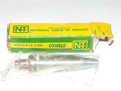New Old Stock NATIONAL TORCH TIP 1502 No. 6 Oxweld NEW
