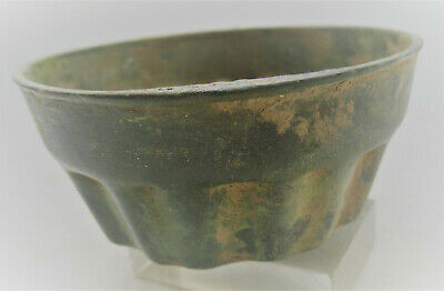European Finds Ancient Roman Bronze Ceremonial Dish Circa 200-300Ad