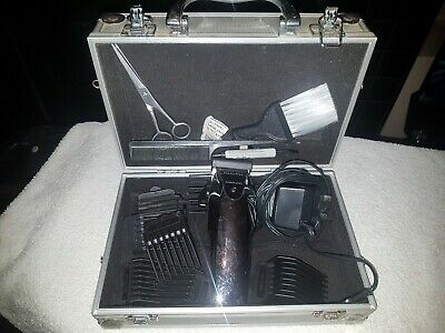 Babyliss Mens Hair Clippers Scissors Grooming Kit With Case Great Quality Lovely