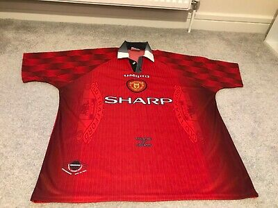 Manchester United Shirt Size Xl 1996-1998 Season