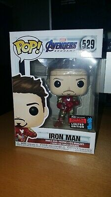 Funko Pop 529 Avengers Endgame Iron Man with Gauntlet 2019 NYCC Exclusive