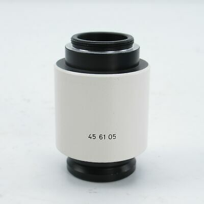ZEISS 1x C-MOUNT CAMERA ADAPTER FOR STEMI & AXIO MICROSCOPES - 456105