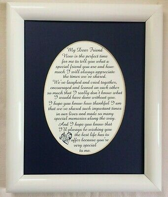 SPECIAL Friendship BEST FRIEND Memories TIMES SHARED Laugh verses poems plaques