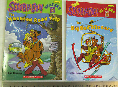 ••• | Lot x 2 SCOOBY-DOO Readers  Level 2 and 3 | Number 21 - 22 | •••