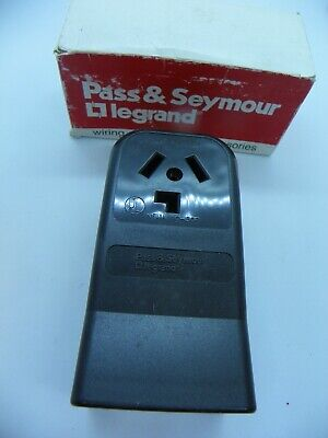 Pass & Seymour 388 3 Pole 3 Wire 30 Amp Surface Mount Dryer Receptacle