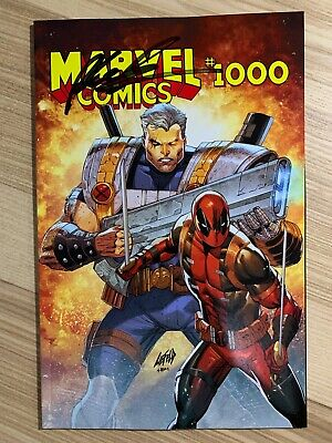 Marvel Comics #1000 (2019 Marvel) Torpedo Comics Variant Signed Rob Liefeld