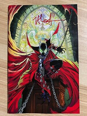Spawn #300 (2019 Image) J Scott Campbell Variant Signed Jason Shawn Alexander