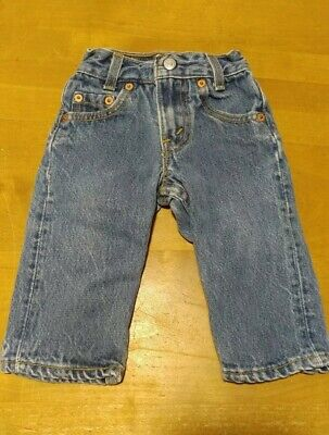 Vintage Levi's Jeans Toddler Baby 202-0115 Size 0 Slim 16x9 USA
