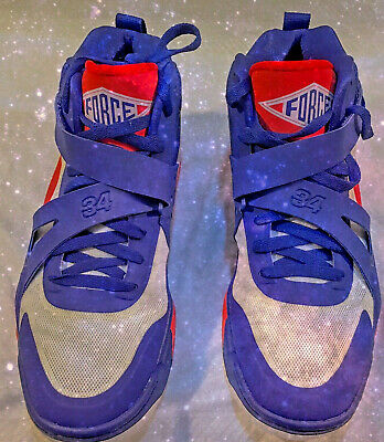 Nike Air Force Max CB 2 Hyperfuse Men's Size 14 Charles Barkley Blue 616761 400