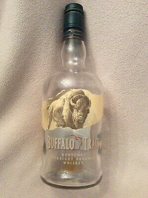 Buffalo Trace Empty Bourbon Bottle ~ No Alcohol ~ 750ml ~ Whiskey