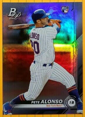 🔥🔥🔥$$$***PETE Peter ALONSO***$$$🔥🔥🔥ROOKIE CARD🔥🔥🔥 2019 Bowman PLATINUM