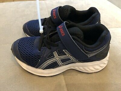 Boys Asics Blue Athletic Sneakers Size 10 Worn Once