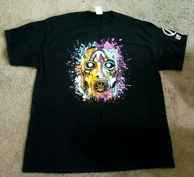 NEW PAX West 2019 Borderlands 3 Exclusive Shirt Psycho Swag Size XL