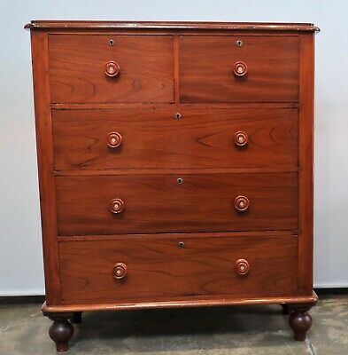 Beautiful Antique Cedar Chest Of Drawers Tallboy In Excellent Condition