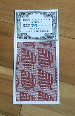 Double Jacquard Punchcards Series 74 No 361 to 370