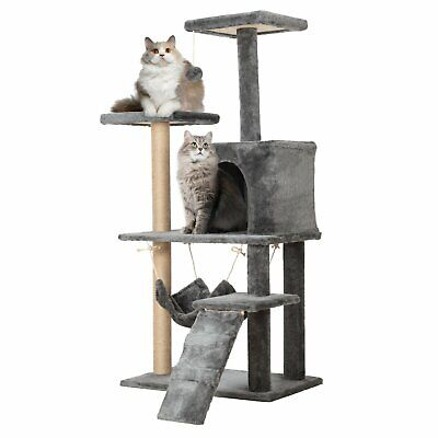 Multi Level Cat Tree Scratching Post Scratcher Pole Gym Toy House Furniture 150c