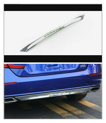 2X ABS Chrome Rear Trunk Lid Tail Gate Molding Cover Trim For Honda Accord 2018