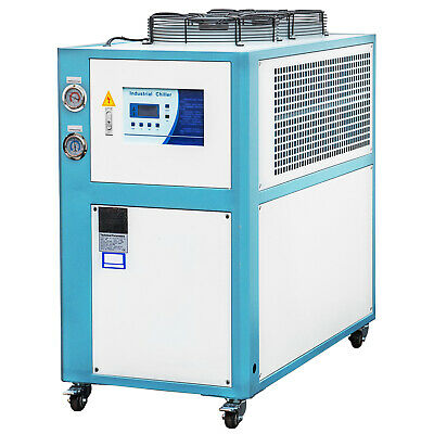 3 Ton Air-cooled Industrial Chiller 9KW LCD Display Panasonic Compressor 220V