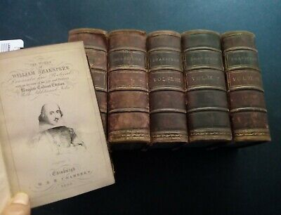 Knight's Cabinet Ed of The Works of William Shakspere Shakespeare Complete 1856