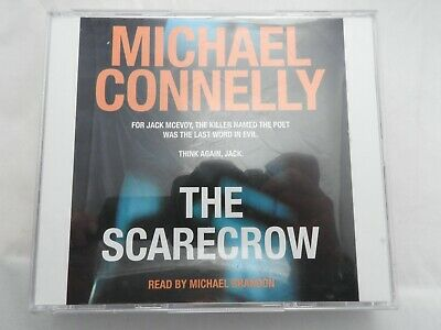 Scarecrow - Michael Connelly audio book on 5 CDs read by Michael Brandon