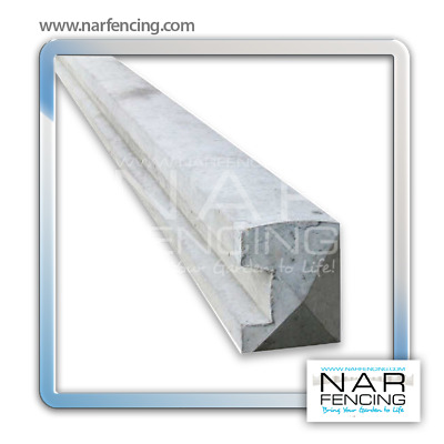 Concrete End Post Fence Support - Products by NAR Fencing