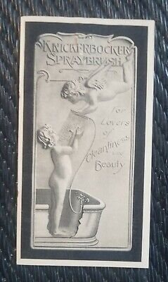 Knickerbocker Spraybrush And The Bath De Luxe By The Progress Co Pamphlet