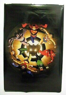 """JUSTICE LEAGUE Silver Age poster by ALEX ROSS, 2004 DC Comics, 24""""x36"""""""