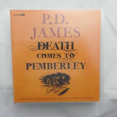 Death Comes to Pemberley - PD James on 8 CDs complete & unabridged