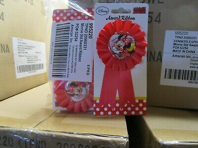 144 Disney Minnie Mouse Rosette - Rosettes -  Clearance Disney