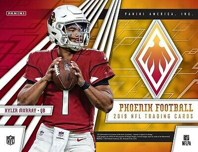 Los Angeles Rams - 2019 Panini Phoenix Football 4 Box 1/2 Inner Case Break #2