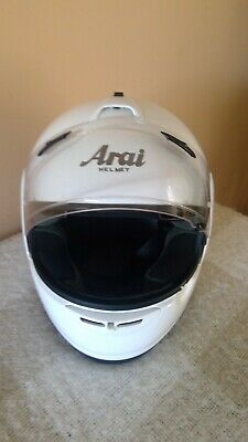 Arai EXCES-2 Large (59cms) Motorcycle Helmet with pinlock