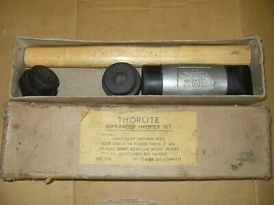 Thorlite Soft Faced Hammer Set - As Photo's