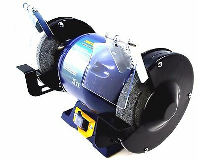Electric Bench Grinder 150mm 6 inch 370W Twin Wheel Metal Grinding Stone PW057