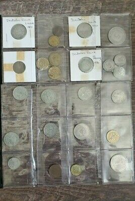 (26) German Coins: 1875-1984 - some silver- over 20 Mark face value