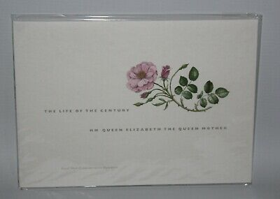 Royal Mail Commemorative Document - The Queen Mother, Life Of The Century, 2000