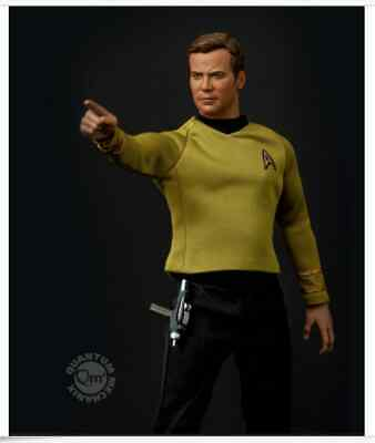 1/6 Scale Qmx Star Trek 50th Anniversary Capt. Kirk Figure Quantum Mechanix MIB!