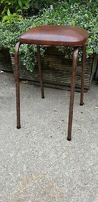 Vintage / Retro Industrial Metal Stool