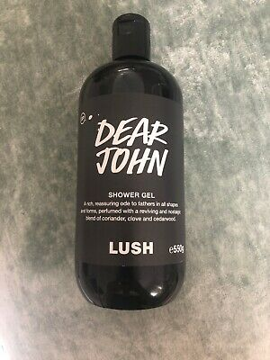 Lush Cosmetics Dear John Shower Gel 550g Fathers Day Exclusive DISCONTINUED,