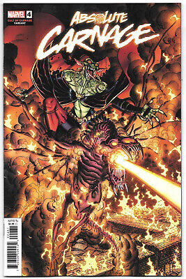 Absolute Carnage #4 NM- 2019 Marvel Comics 1:25 Cult of Variant 1st print Venom