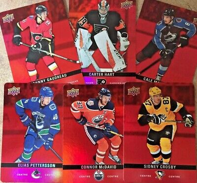 2019-20 Upper Deck Tim Hortons Red Parallel Cards U Pick