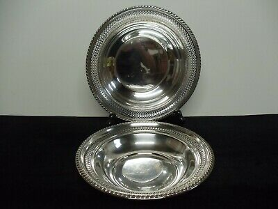 Pair Of Vintage Sterling Silver Bowls Gorham