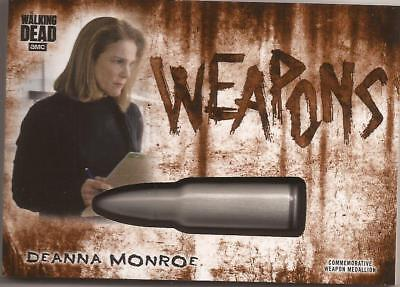 Topps Walking Dead Hunters and Hunted Weapons Medallion Deanna Monroe WM-BDM /99