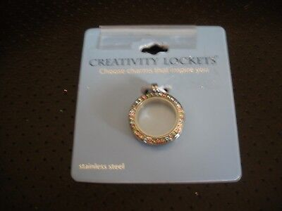 New creative locket silver plated stainless steel