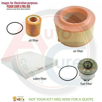 Ford Ranger 3.2 Tdci (Mk3) Service Kit Filters Only Oil Air Fuel Cabin