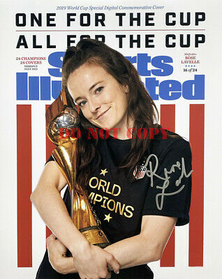 Rose Lavelle Team USA Signed 8x10 Sports Illustrated Photo