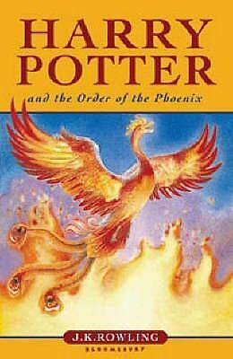 Harry Potter and the Order of the Phoenix by J. K. Rowling (Paperback Book)