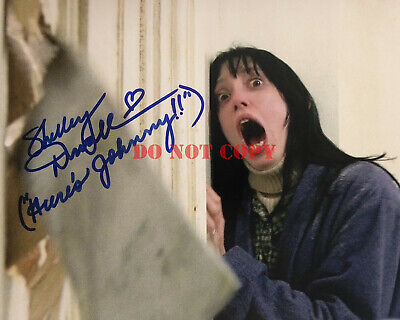 Shelley Duvall Signed Autographed The Shining 8x10 Photo reprint