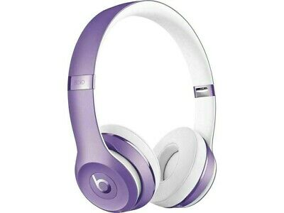 Authentic Beats By Dr. Dre Beats Solo3 Wireless On-Ear Headphones Ultra Violet