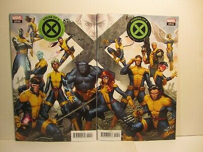 House Of X #4 Molina + Power Of X #4 Connecting Variant Nm  Marvel Comics 2019