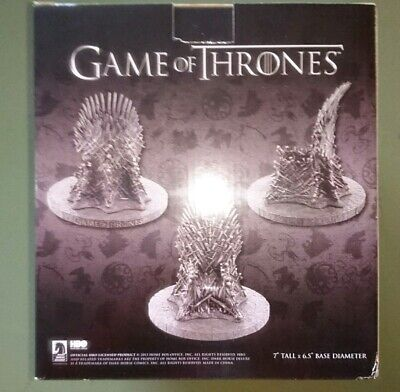 """Game of Thrones Iron Throne HBO official licensed 7"""" replica model stunning"""
